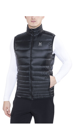 Haglöfs Essens III Down Vest Men true black/magnetite